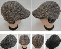 Warm Ivy Cap with Ear Flaps [Herringbone]